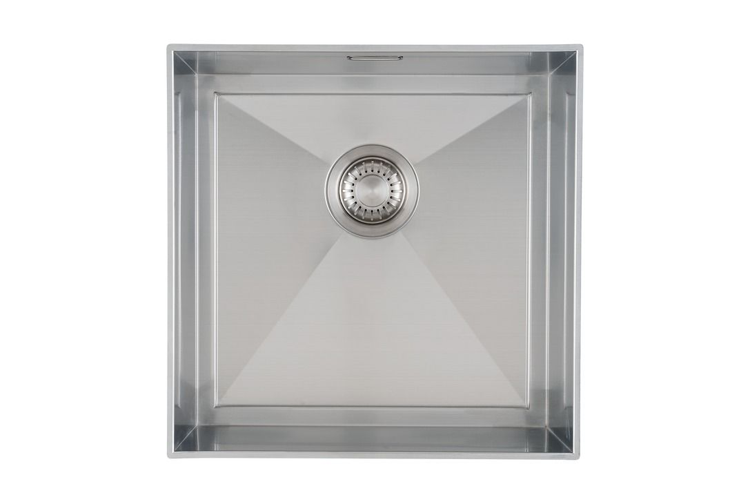 Caressi spoelbak voor zelfmontage in graniet keukenblad bestellen