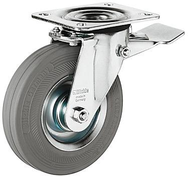 Genoeg Zeer sterk zwenkwiel met hoog draagvermogen - bekijk alle zwenkwielen HX73